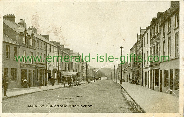 Donegal - Buncrana - Main St from West