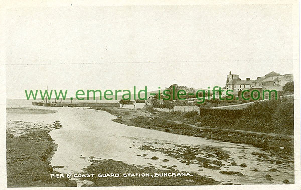 Donegal - Buncrana - Pier & Coastguard Station