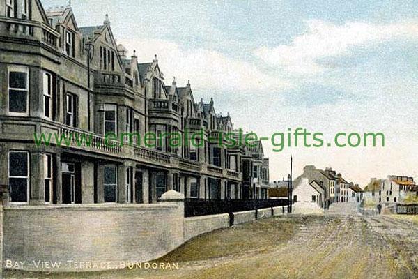 Donegal - Bundoran - Main Street view (old Ireland photograph)