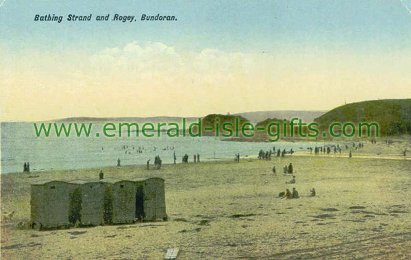 Donegal - The Bathing Strand and Rogey