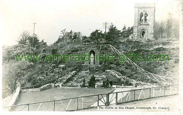 Donegal - Creeslough - The Grotto at Doe Chapel
