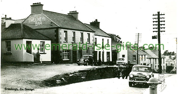 Donegal - Creeslough - Main St / Sweeney