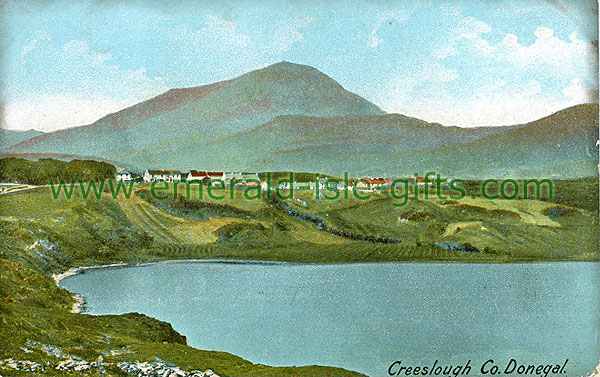 Donegal - Creeslough - View from distance