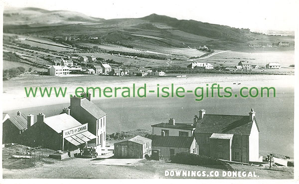 Donegal - Downings - Village view