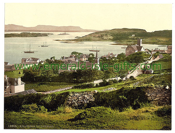 Donegal - Killybegs - photochrome