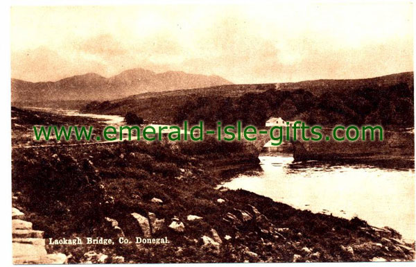 Donegal - Lackagh Bridge - old photo