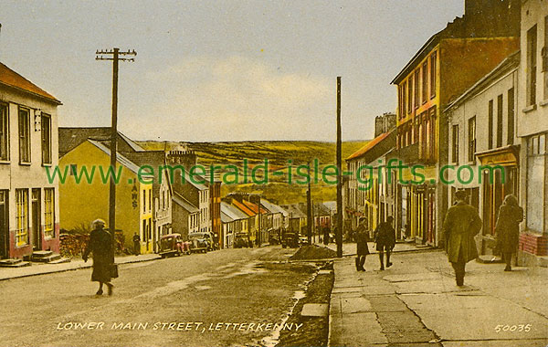 Donegal - Letterkenny - Lower Main St