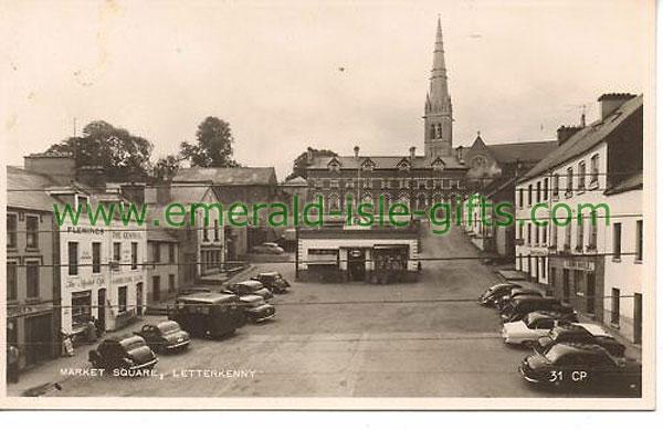 Donegal - Letterkenny - Market Square