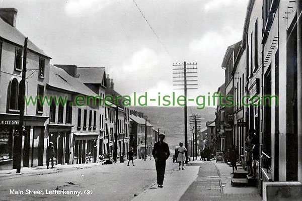 Donegal - Letterkenny - Main St old image