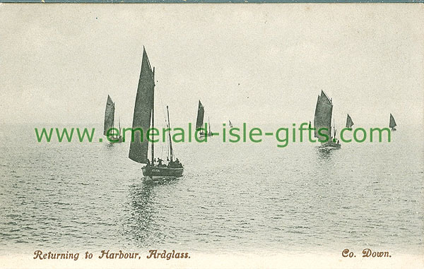 Down - Ardglass - Boats returning to Harbour