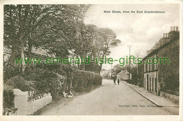 Down - Crawfordsburn - Main St from the East