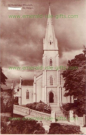 Down -Kilbroney Church - old photo