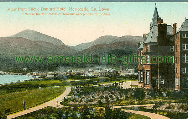 Down - Newcastle - View from Slieve Donard Hotel