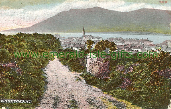 Down - Warrenpoint - Town from distance