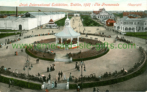 Dublin Sth - Ballsbridge - Irish International Exhibition, RDS, The Promenade