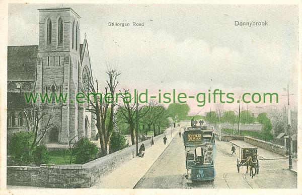 Dublin Sth - Donnybrook - Stillorgan Road (old colour Irish photo)