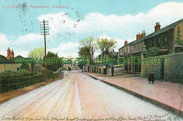 Dublin Sth - Dundrum - Rosemount (old colour Irish photo)