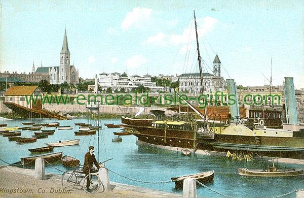 Dublin Sth - Dun Laoghaire - Kingstown, Co Dublin (old colour Irish photo)