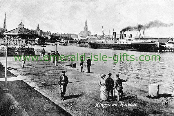 Dublin - The old Kingstown Harbour