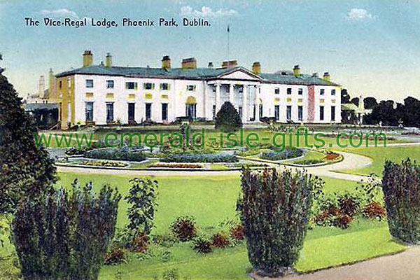 Dublin - Phoenix Park - The Vice Regal Lodge