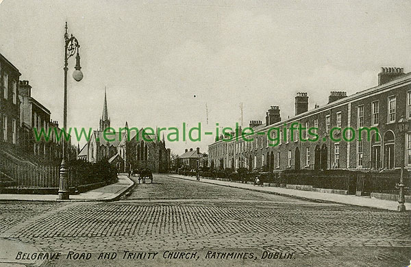 Dublin Sth - Rathmines - Belgrave Road and Trinity Church