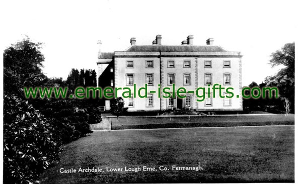 Fermanagh - Castle Archdale - old photo