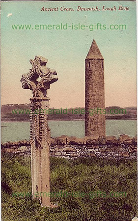 Fermanagh - Devinish - Ancient Cross