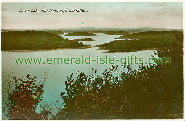Fermanagh - Enniskillen - Lower Lake and Islands