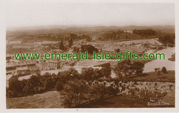 Fermanagh - Enniskillen - Hillside view
