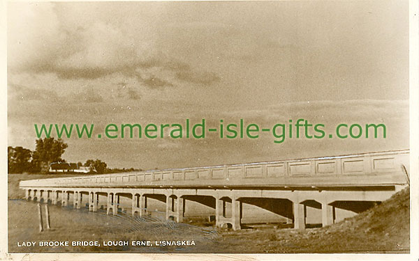Fermanagh - Lisnaskea - Lady Brooke Bridge, Lough Erne