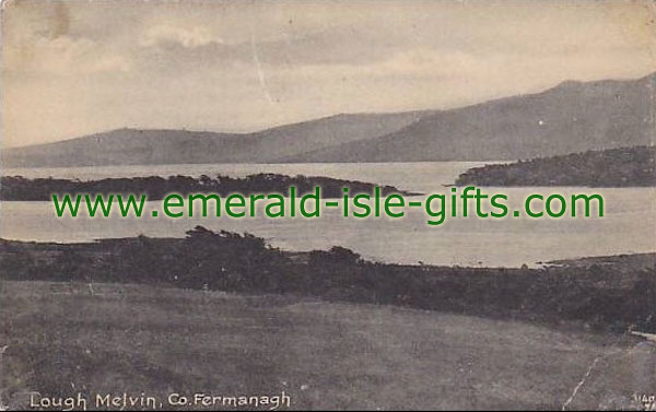 Fermanagh - Lough Melvin - old photo