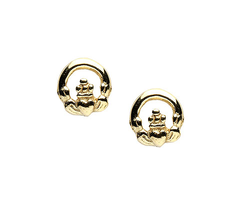 14K Gold Small Stud Earrings