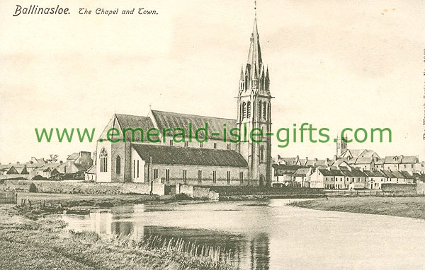 Galway - Ballinasloe - The Chapel and Town