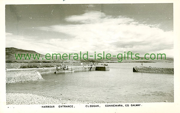 Galway - Cleggan - Harbour Entrance, Cleggan