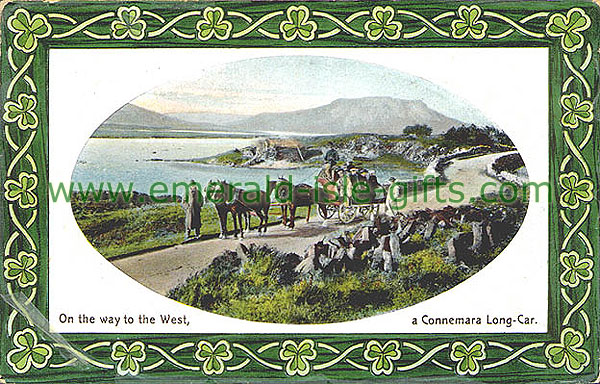 Galway - On the Way to the West (Connemara Long Car)