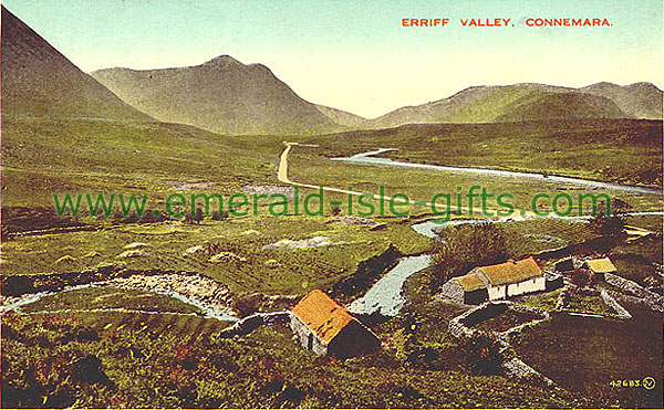 Galway - Erriff Valley - in colour