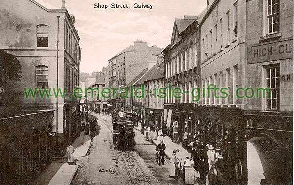 Galway - Galway City - Shop St