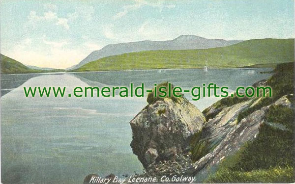 Galway - Killary Bay - old colour image