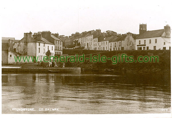 Galway - Roundstone - View from harbour