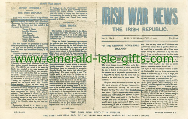 Irish War News - The Irish Republic