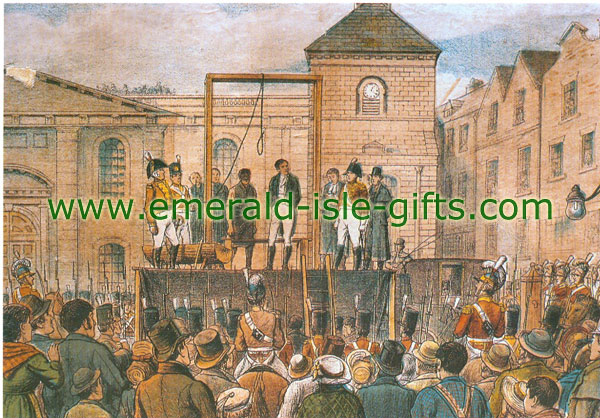 1803 - The Hanging of Robert Emmet