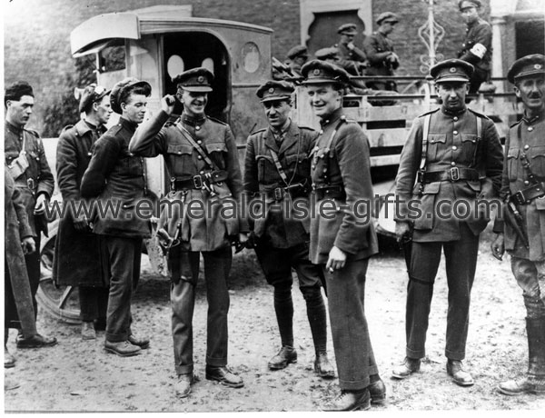 1920 - Newly arrived Black & Tans in Ireland