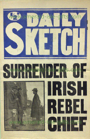 Daily Sketch - Surrender of Padraig Pearse