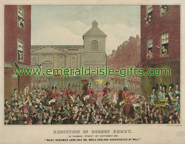 1803 - The Execution of Robert Emmet