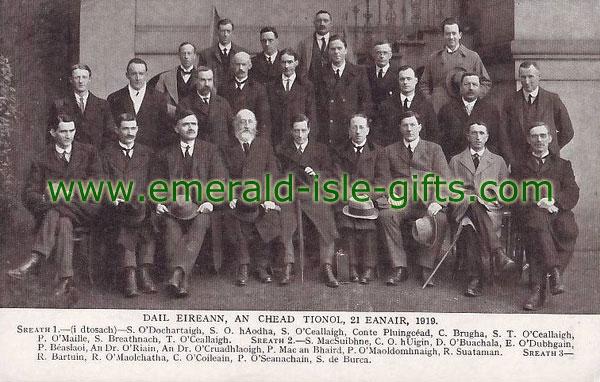 The First Dáil, 21st January, 1919