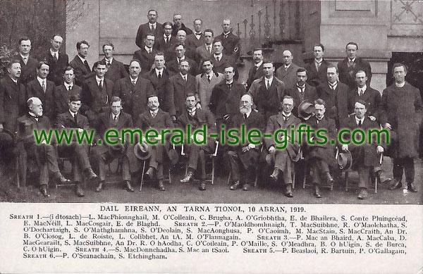 The Second Dáil, 10th April, 1919