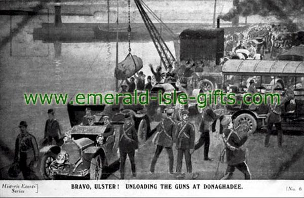 1914 - Gun-running at Donaghadee