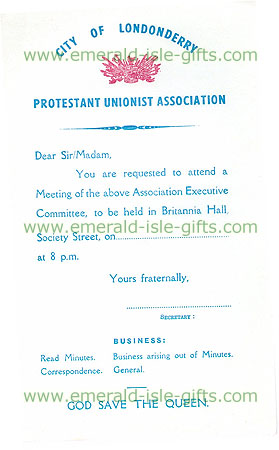 Ulster Protestant Unionist Association