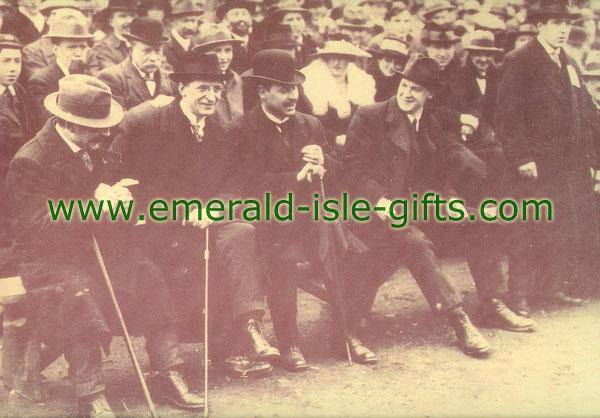 Michael Collins & Eamon De Valera