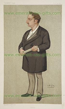 John Redmond Caricature